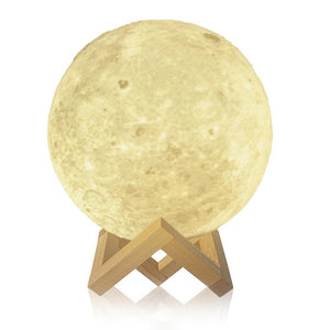 3D Print Moon Light Night Lamp