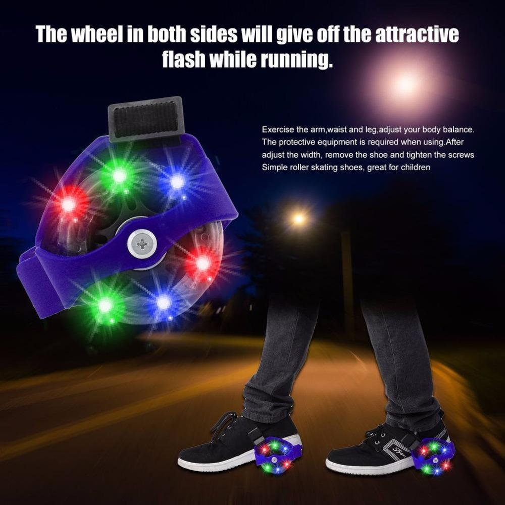 Flashing Roller Skating Shoes