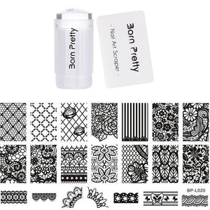 BORN PRETTY 3Pc Stamping Tool Set