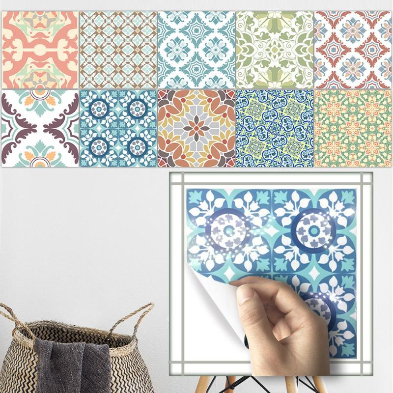 Washable Tile Stickers Set