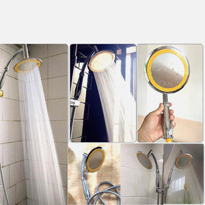 Rotate Rainfall Shower Head