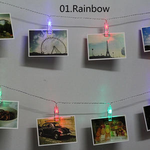 LED Clip String Lights