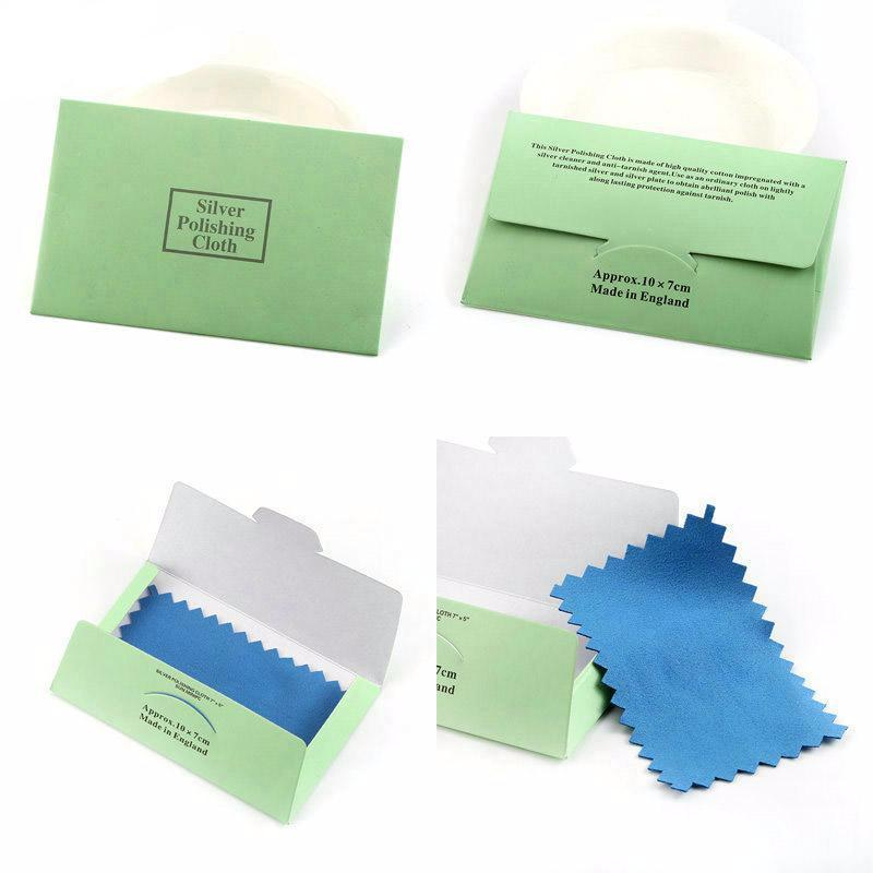 10 Pcs Silver Polishing Cloth