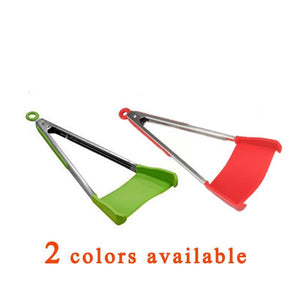 Clever 2-in-1 Kitchen Spatula & Tongs