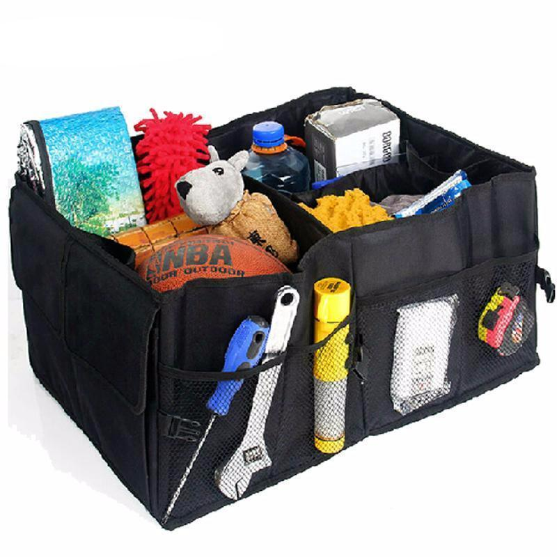 Portable Car Back Folding Storage Box