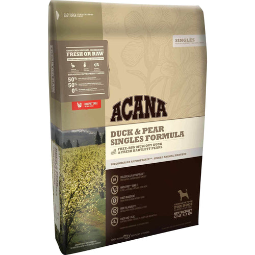 Acana Singles Limited Ingredient Diet Duck and Pear Formula Dry Dog Food