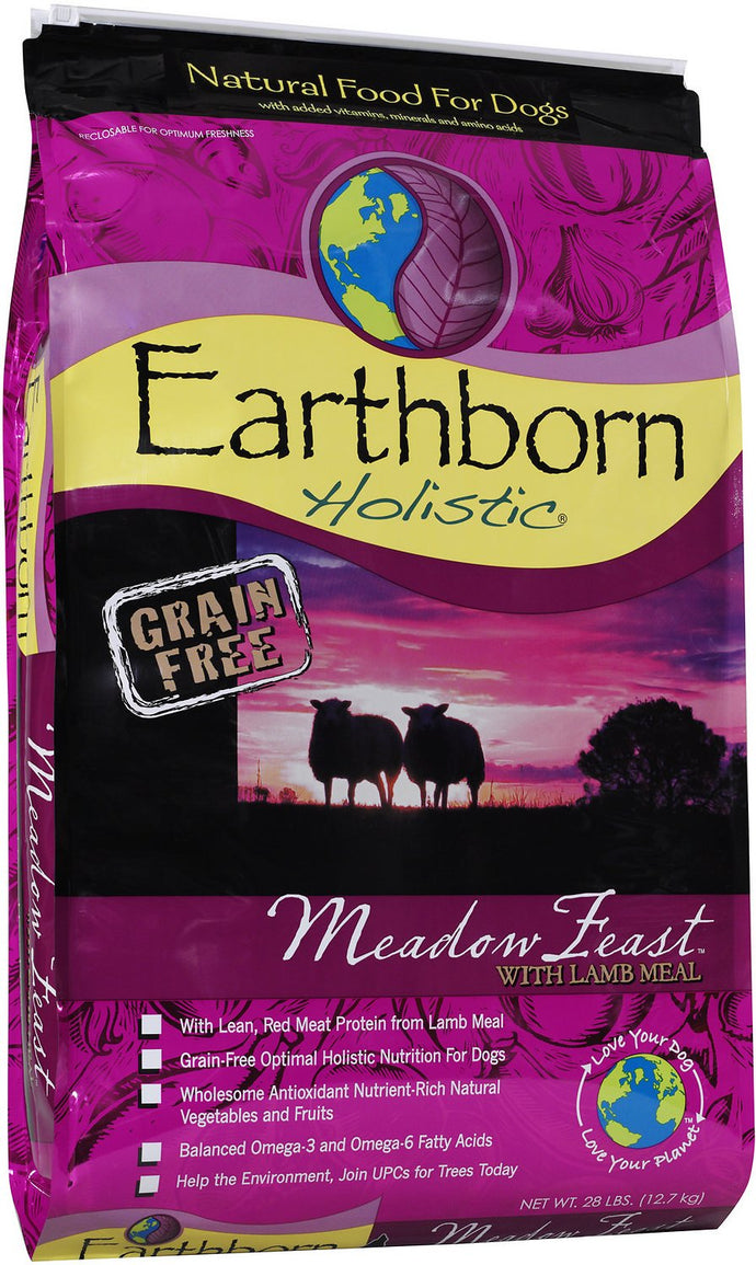Earthborn Meadow Feast Grain Free Lamb Dry Dog Food