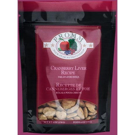 Fromm Four Star Nutritionals Cranberry and Liver Dog Treats