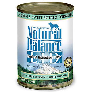 Natural Balance L.I.D. Limited Ingredient Diets Chicken & Sweet Potato Formula Grain-Free Canned Dog Food