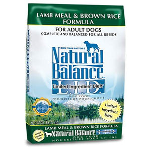 Natural Balance L.I.D. Limited Ingredient Diets Lamb Meal and Brown Rice Dry Dog Food