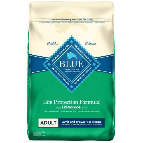 Blue Life Protection Formula - Adult Lamb and Brown Rice Dry Dog Food