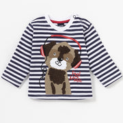 Baby Boy's -Musical Doggy- long sleeve shirt