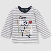 Baby Boy's -Sports love- long sleeve shirt