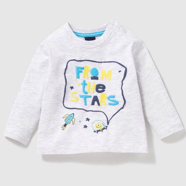 Baby Boy's -From the Stars- long sleeve shirt