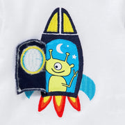 Baby Boy's -Spaceship- long sleeve shirt