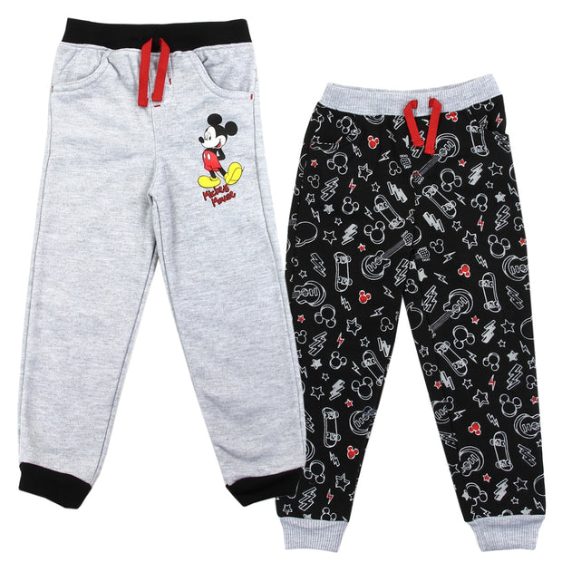 Mickey Mouse Fleece Joggers (2 Pack)