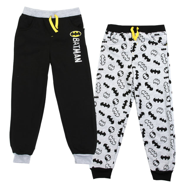 BATMAN Boys Fleece Joggers (2 pack)
