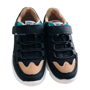 Boy Mesh-Suede Sneakers