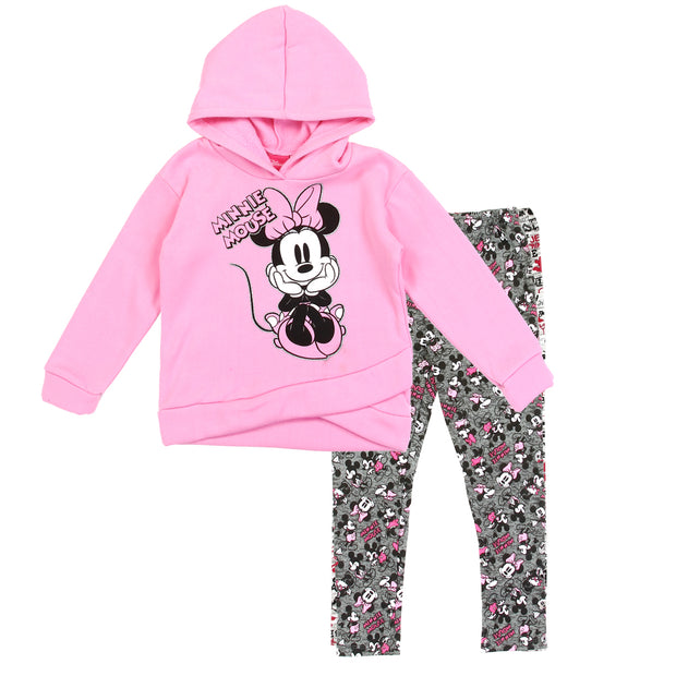 Minnie Mouse Girls 2PC Fleece and Leggings Set