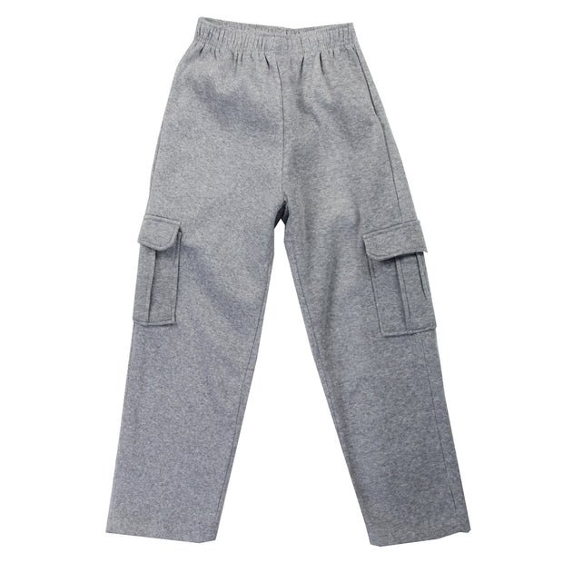Boys Fleece Cargo Pants