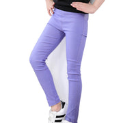 Girls Candy ColorPop pants. Purple.