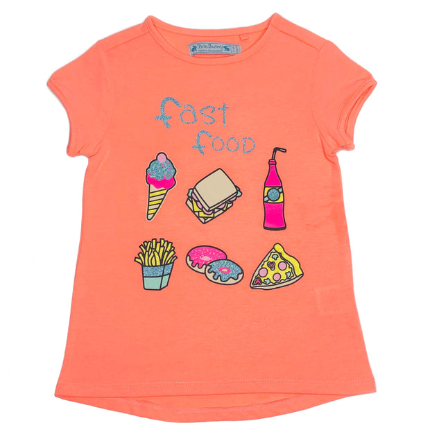 Girl's Graphic Tee for Foodies