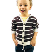 Boys striped knitted Cardigan