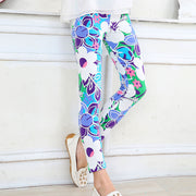 Girl Flower Print super soft Summer Leggings