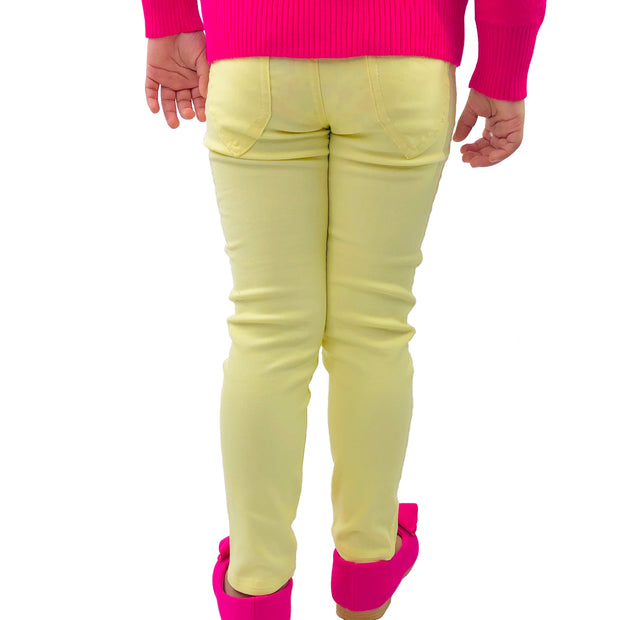Girls Candy ColorPop pants. Yellow