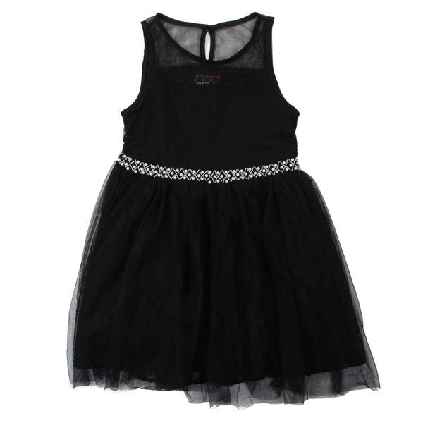 Sober Elegance - Black formal dress