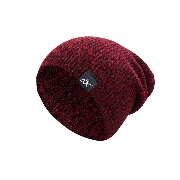 Wool Knitted Baggy Winter Beanie. Unisex. More colors available.