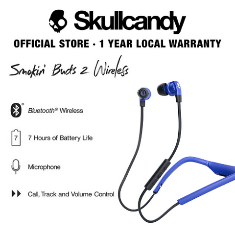 Skullcandy Smokin' Bud 2 Wireless In-Ear