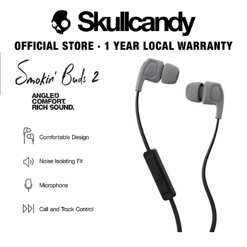 Skullcandy Smokin' Bud 2 In-Ear W/Mic