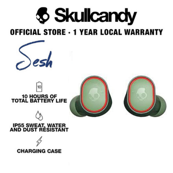 Skullcandy Sesh True Wireless Bluetooth In-Ear Earbuds (Limited Edition)