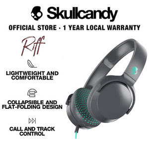 Skullcandy Riff On-Ear W/ Tap Tech