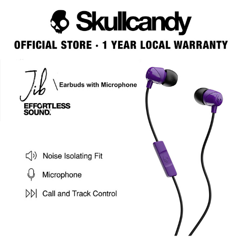 Skullcandy Jib In-Ear W/ Mic