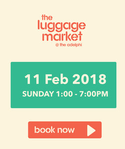 The Luggage Market Booth | 11 Feb 2018