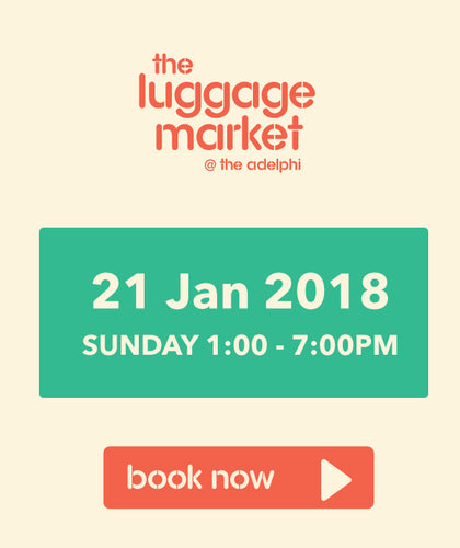 The Luggage Market Booth | 21 Jan 2018