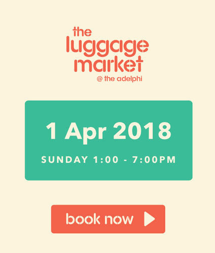 The Luggage Market Booth | 1 Apr 2018