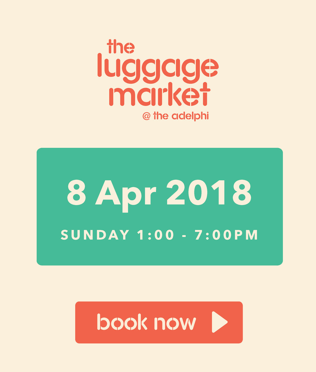 The Luggage Market Booth | 8 Apr 2018