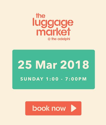 The Luggage Market Booth | 25 Mar 2018