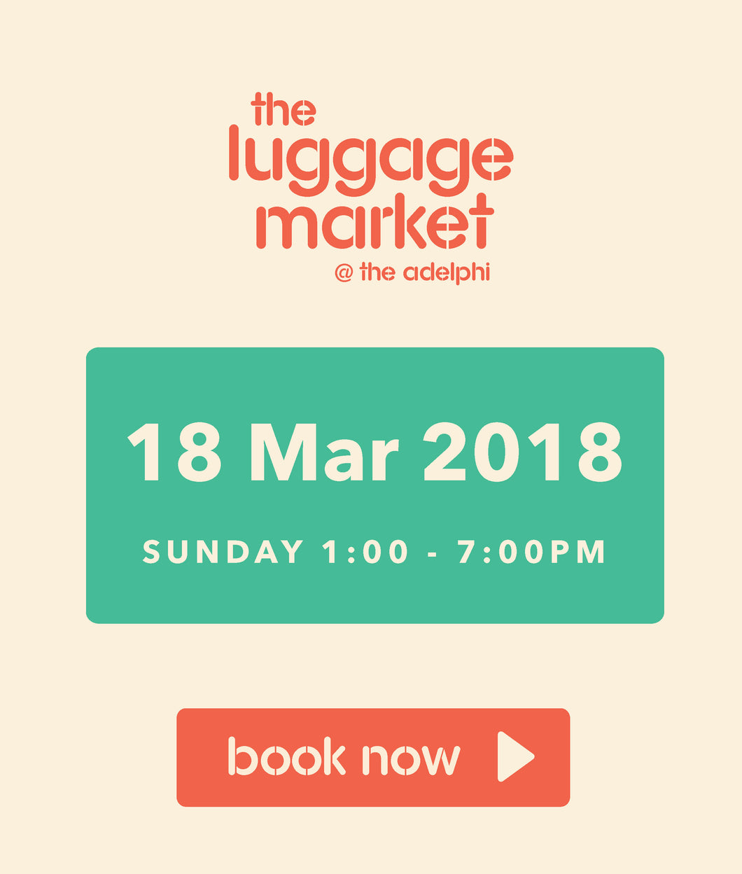 The Luggage Market Booth | 18 Mar 2018