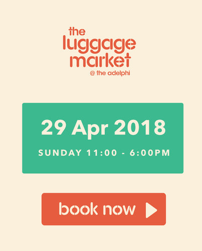 The Luggage Market Booth | 29 Apr 2018