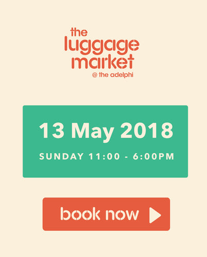 The Luggage Market Booth | 13 May 2018