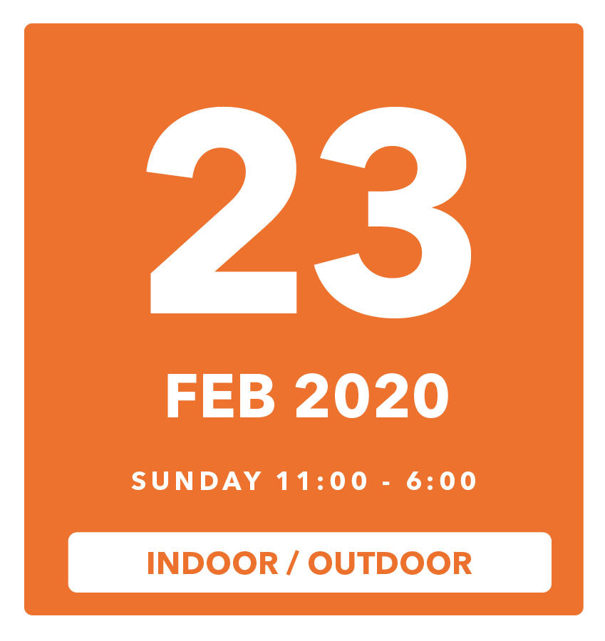 The Luggage Market Booth | 23 Feb 2020