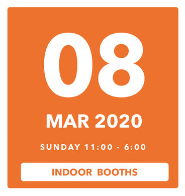 The Luggage Market Booth | 8 Mar 2020