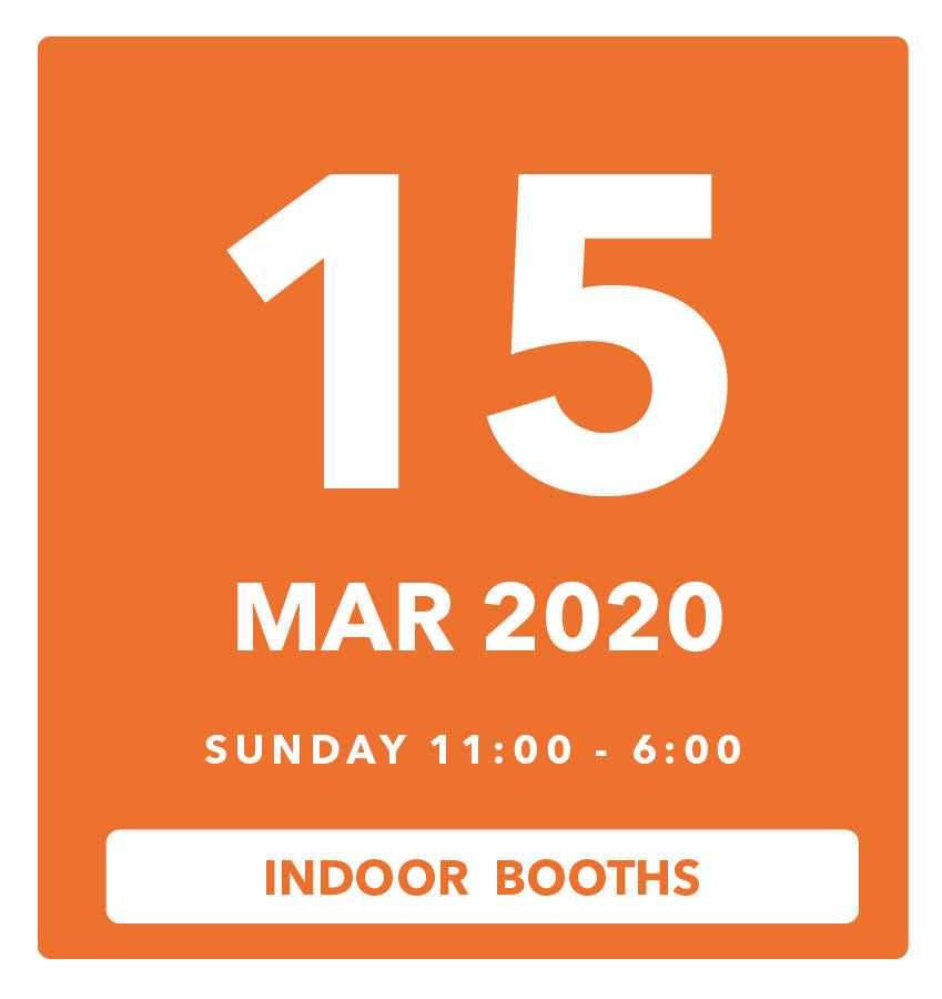The Luggage Market Booth | 15 Mar 2020