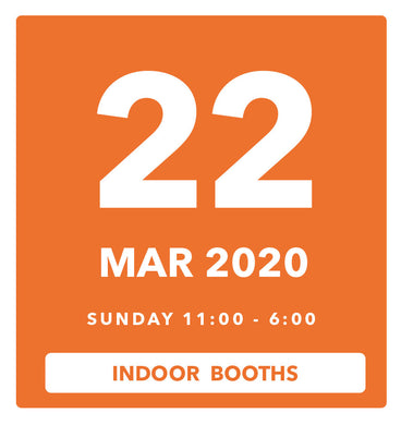 The Luggage Market Booth | 22 Mar 2020