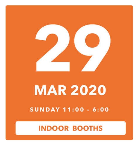 The Luggage Market Booth | 29 Mar 2020