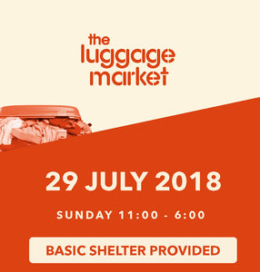 The Luggage Market Booth | 29 July 2018